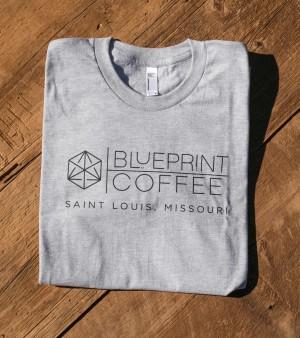 Blueprint Grey Men's Shirt
