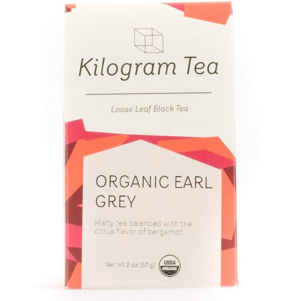 Organic Earl Grey Loose Leaf Black Tea from Kilogram Tea
