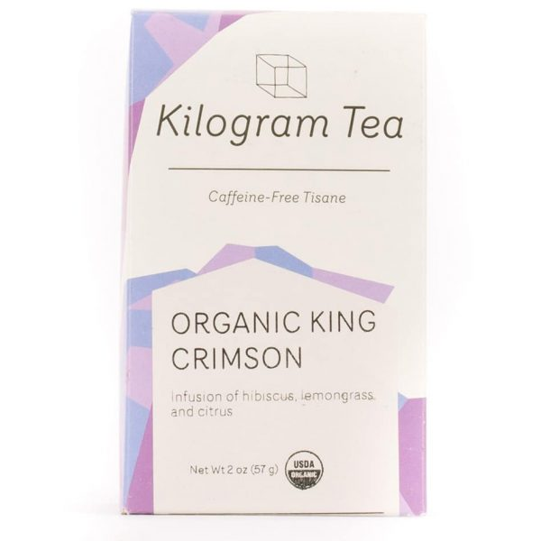 Organic King Crimson Loose Leaf Herbal Tea from Kilogram Tea