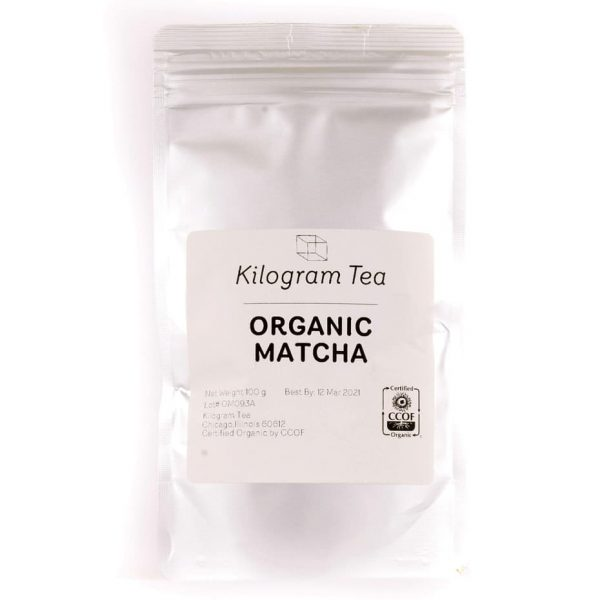 Organic Matcha Tea from Kilogram Tea.