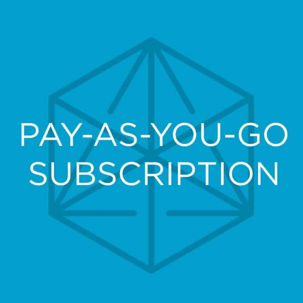 The Pay-As-You-Go Coffee Subscription from Blueprint Coffee.