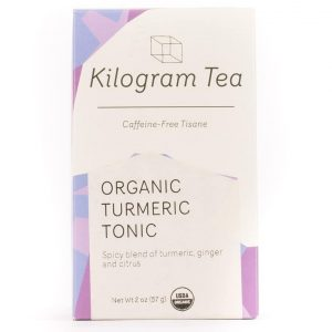 Organic Turmeric Tonic Herbal Tea from Kilogram Tea.