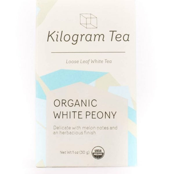 Organic White Peony White Loose Leaf Tea from Kilogram Tea.