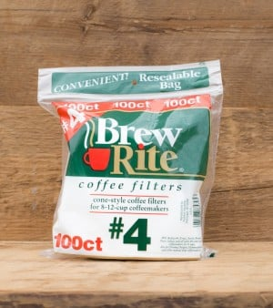 Brew Rite #4 Coffee Filters