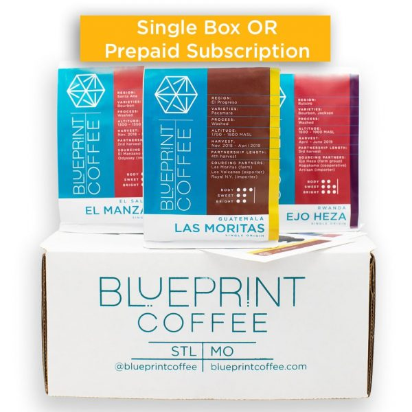 Single Origin Coffee Sampler