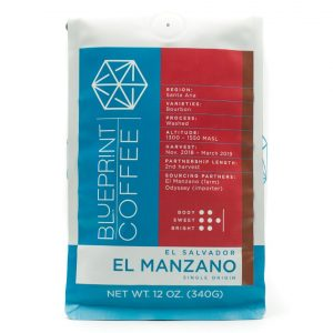 Blueprint Coffee's El Manzano from El Salvador.