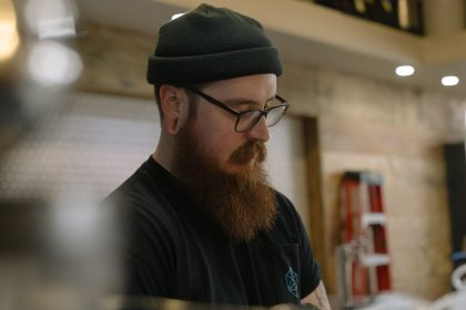 Ryan Stakes - barista, shift lead, and General Manager at Blueprint Coffee.