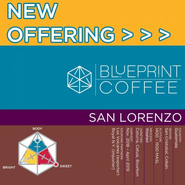 San Lorenzo is a Guatemalan coffee from the Cobán region.