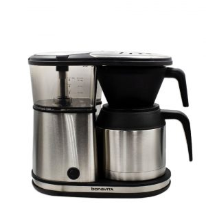 Bonavita 5-cup Stainless Steel Coffee Brewer.