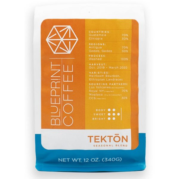 Tektōn Seasonal Blend Coffee from Blueprint.