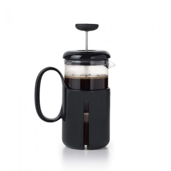 The OXO 8-cup Venture French Press is a straightforward and wonderful coffee brewer.